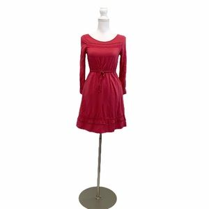 LC LAUREN CONTAD RED BUD XS Long Sleeve Dress